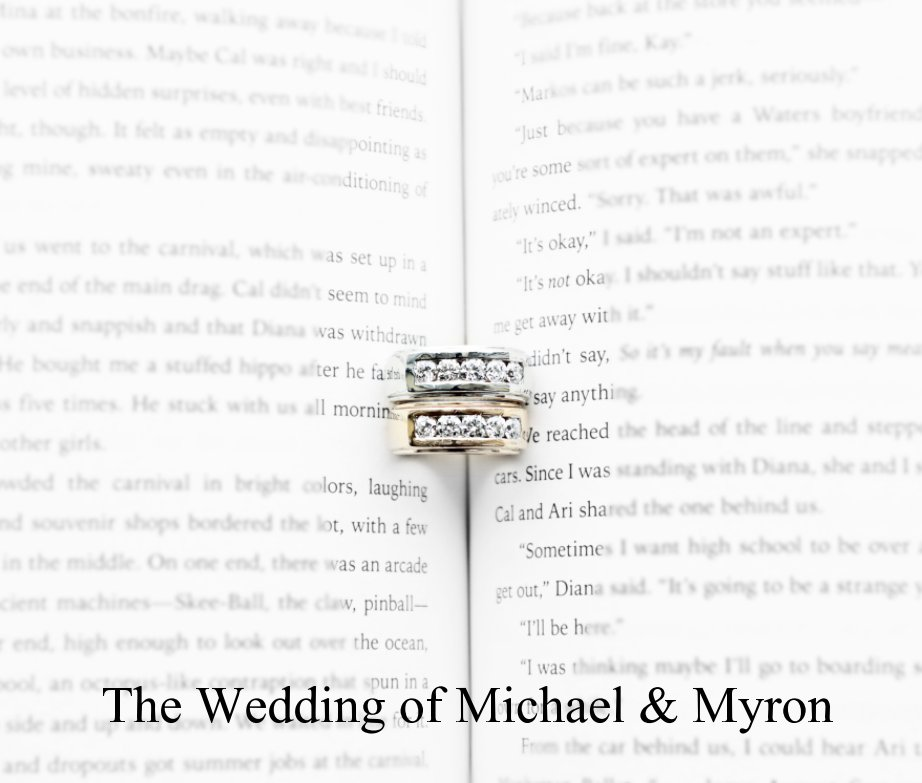 View The Wedding of Michael and Myron by Cameron MacMaster