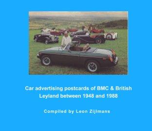 BMC + Br. Leyland postcard album book cover