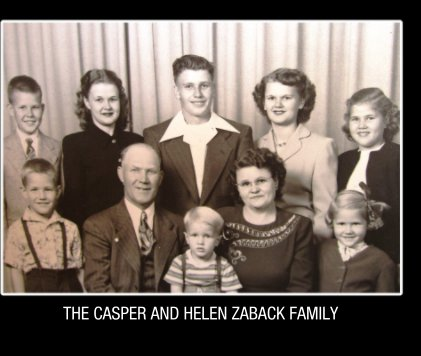 Zaback Family Reunions 1972-2016 book cover