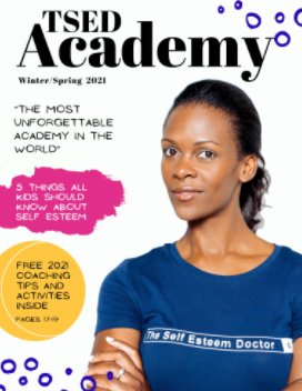 TSED Academy Magazine book cover