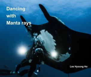 Dancing with Manta rays book cover