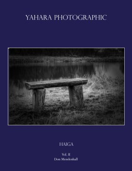 Yahara Photographic book cover