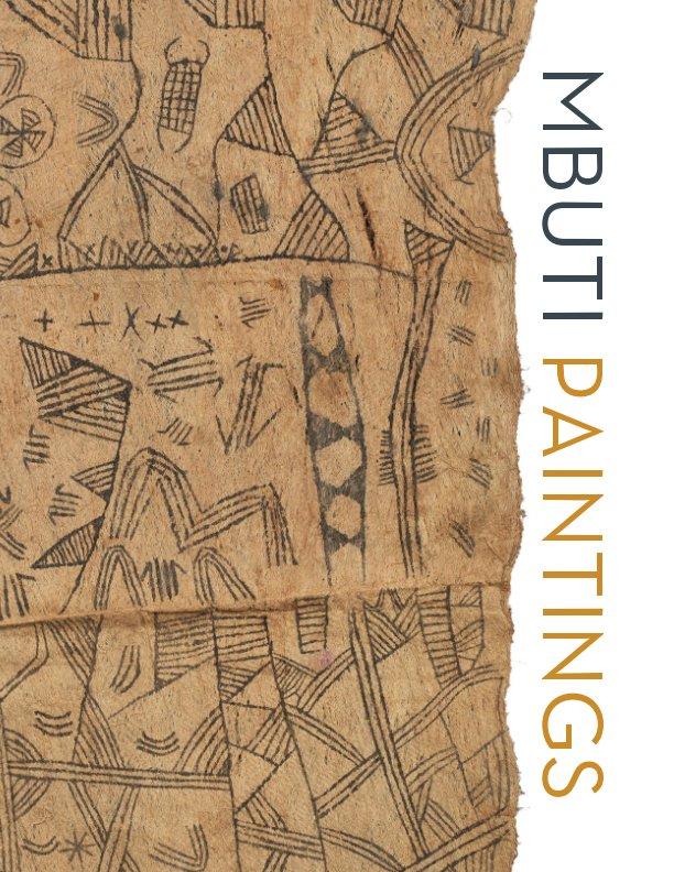 Mbuti Paintings nach Andres Moraga Textile Art anzeigen