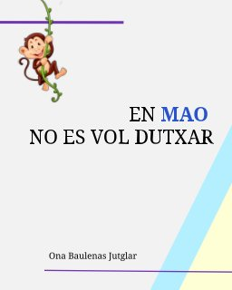 En Mao no es vol dutxar book cover