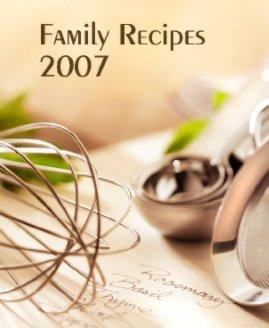 Family Recipes 2007 book cover