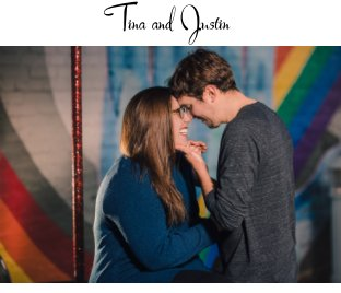 Tina and Justin book cover