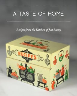 A Taste of Home - Paperback book cover
