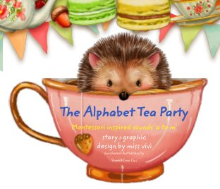 Alphabet Tea Party (a to m) book cover