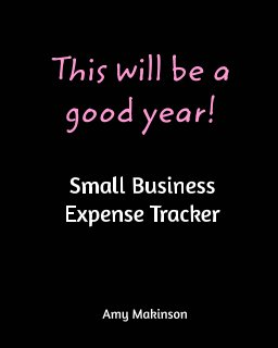 Small Business Expense Tracker book cover