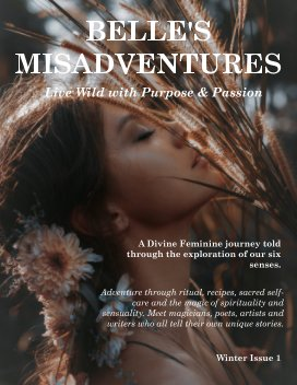 Belle's Misadventures: Live Wild with Purpose and Passion book cover