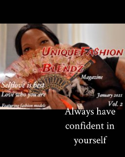 UniqueFashion Blendz magazine book cover