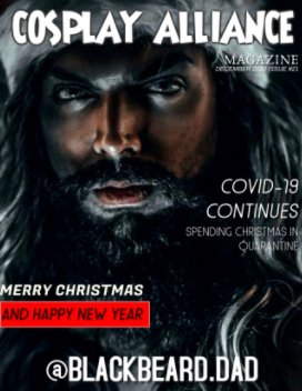 Cosplay Alliance Magazine December 2020 Christmas Issue #21 book cover