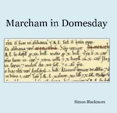 Marcham in Domesday book cover