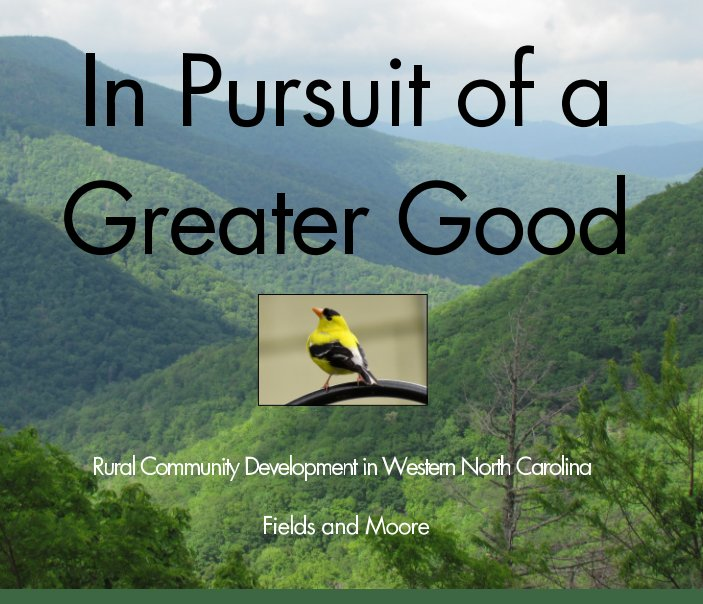 View In Pursuit of a Greater Good by Jay Fields, Janet Moore