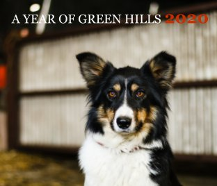 A Year of Green Hills 2020 book cover