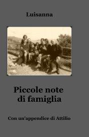 Piccole note di famiglia book cover