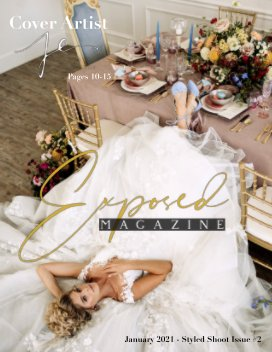 JAN 2021 Issue #2 STYLED SHOOT book cover