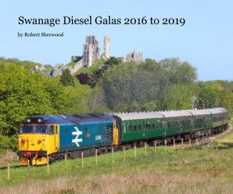 Swanage Diesel Galas 2016 to 2019 book cover