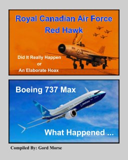 RCAF Red Hawk and Boeing 737 Max book cover