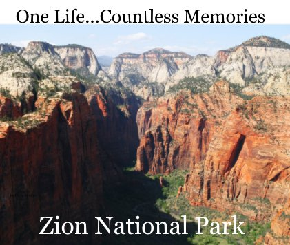 Zion National Park book cover