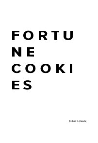 Fortune Cookies book cover