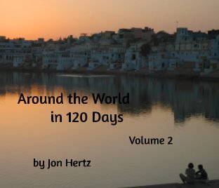 Around the World in 120 Days, Volume 2 book cover