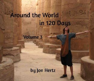 Around the World in 120 Days Volume 3 book cover