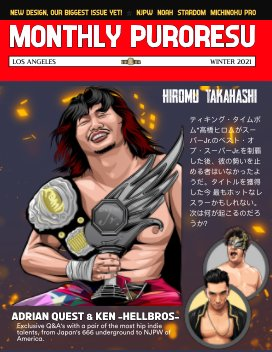 Monthly Puroresu Issue #3 book cover