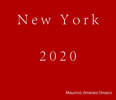 New York 2020 book cover