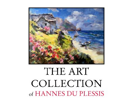 The Art Collection Of Hannes Du Plessis book cover