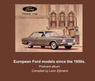 European Ford models since the 1950s book cover