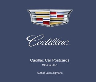 Cadillac postcards 1964-2021 book cover