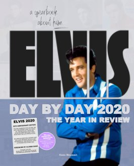 Elvis Day By Day 2020 book cover