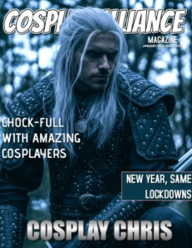Cosplay Alliance Magazine January 2021 Issue #22 book cover