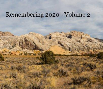 Remembering 2020 Volume 2 book cover