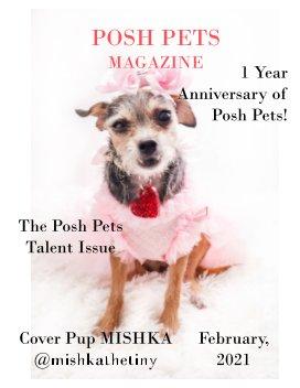 Posh Pets Magazine 12 book cover