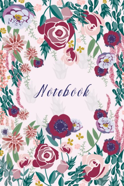 View Floral Notebook by Sophie Davari