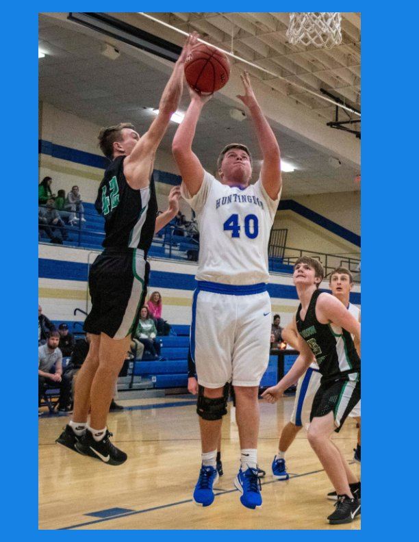 View Drake Butler 2019-2020 basketball season by Russell Bush