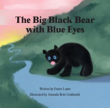 The Big Black Bear with Blue Eyes book cover