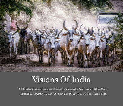 Visions Of India book cover