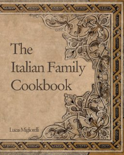 The Italian family cookbook book cover