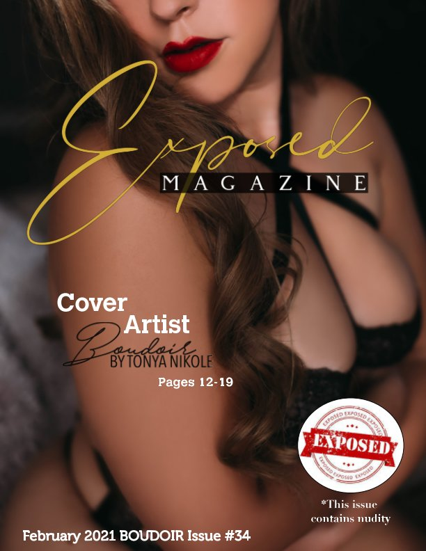 View February 2021 Boudoir Issue #34 by Exposed Magazine