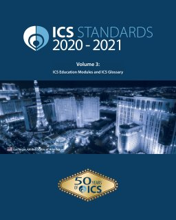 ICS Standards 2020-2021 - Volume 3 book cover