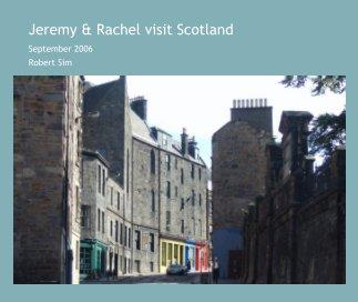 Jeremy & Rachel visit Scotland book cover