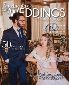 Vol. 30 No. 1 Spectacular Weddings Las Vegas book cover