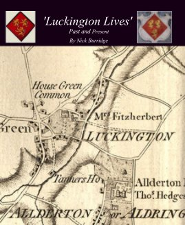 "'Luckington Lives' Past and Present"" book cover"