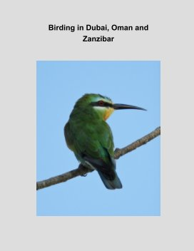Birding in Dubai, Oman and Zanzibar book cover