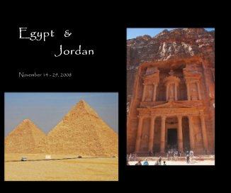 Egypt and Jordan 2008 book cover