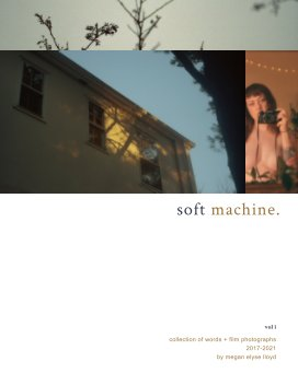 soft machine. vol. 1 book cover
