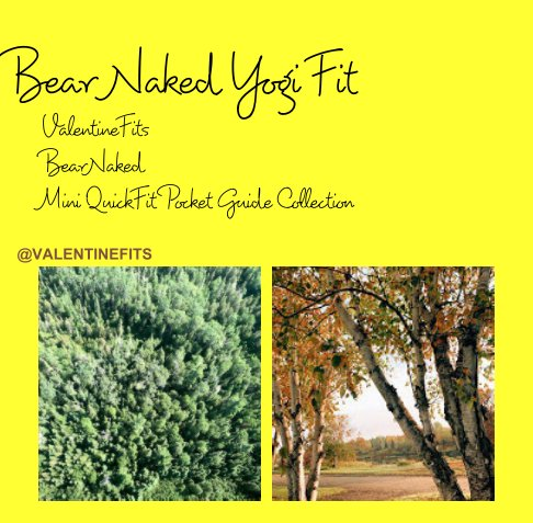 View Bear Naked Yogi Fit by Valentine Fits